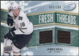 2008/09 Upper Deck Ice Fresh Threads Parallel #FTJN James Neal /100
