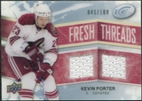 2008/09 Upper Deck Ice Fresh Threads Parallel #FTKP Kevin Porter /100