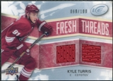 2008/09 Upper Deck Ice Fresh Threads Parallel #FTKT Kyle Turris /100