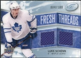2008/09 Upper Deck Ice Fresh Threads Parallel #FTLS Luke Schenn /100