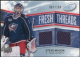 2008/09 Upper Deck Ice Fresh Threads Parallel #FTMA Steve Mason /100