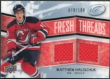 2008/09 Upper Deck Ice Fresh Threads Parallel #FTMH Matthew Halischuk /100