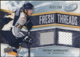 2008/09 Upper Deck Ice Fresh Threads Parallel #FTPH Patric Hornqvist /100