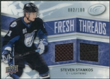 2008/09 Upper Deck Ice Fresh Threads Parallel #FTSS Steven Stamkos /100