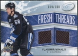 2008/09 Upper Deck Ice Fresh Threads Parallel #FTVM Vladimir Mihalik /100