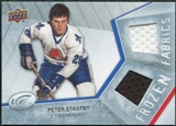 2008/09 Upper Deck Ice Frozen Fabrics #FFPS Peter Stastny