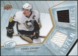 2008/09 Upper Deck Ice Frozen Fabrics #FFSC Sidney Crosby