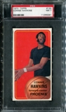 1970/71 Topps Basketball #130 Connie Hawkins PSA 7 (NM) *6291