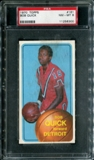1970/71 Topps Basketball #161 Bob Quick PSA 8 (NM-MT) *6300