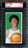 1970/71 Topps Basketball #91 John Warren PSA 7 (NM) *7631