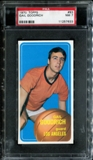 1970/71 Topps Basketball #93 Gail Goodrich PSA 7 (NM) *7633