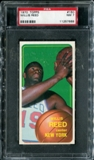 1970/71 Topps Basketball #150 Willis Reed PSA 7 (NM) *7668