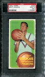 1970/71 Topps Basketball #124 Matt Guokas PSA 9 (MINT) (OC) *9695