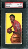 1970/71 Topps Basketball #132 Ed Manning PSA 8 (NM-MT) *9699