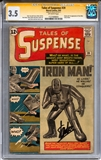 Tales of Suspense #39 CGC 3.5 Stan Lee Signature Series (OW) *1127408003*