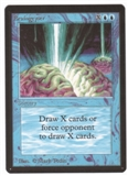 Magic the Gathering Beta Single Braingeyser UNPLAYED (NM/MT)