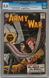 Our Army at War #83 CGC 4.0 (C-OW) *1139140001*