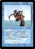 Magic the Gathering Arabian Nights Single Old Man of the Sea - SLIGHT PLAY (SP)