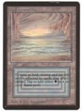 Magic the Gathering Beta Single Underground Sea LIGHT PLAY (NM)
