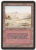 Magic the Gathering Alpha Single Badlands - SLIGHT PLAY (SP)