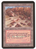 Magic the Gathering Alpha Single Plateau UNPLAYED (NM/MT)