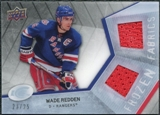 2008/09 Upper Deck Ice Frozen Fabrics Black Parallel #FFWR Wade Redden /25