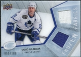 2008/09 Upper Deck Ice Frozen Fabrics Parallel #FFDG Doug Gilmour /100