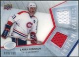 2008/09 Upper Deck Ice Frozen Fabrics Parallel #FFLR Larry Robinson /100