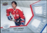 2008/09 Upper Deck Ice Frozen Fabrics Parallel #FFLW Rod Langway /100