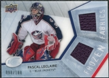 2008/09 Upper Deck Ice Frozen Fabrics Parallel #FFPL Pascal Leclaire /100