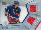2008/09 Upper Deck Ice Frozen Fabrics Parallel #FFWR Wade Redden /100