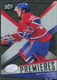 2008/09 Upper Deck Ice #125 Matt D'Agostini /999