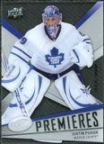 2008/09 Upper Deck Ice #129 Justin Pogge /999