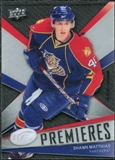 2008/09 Upper Deck Ice #133 Shawn Matthias /999