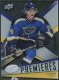 2008/09 Upper Deck Ice #143 T.J. Oshie RC /499
