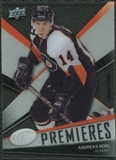 2008/09 Upper Deck Ice #144 Andreas Nodl /499