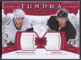 2011/12 Upper Deck Artifacts Kristopher Letang & James Neal Fight Strap #08/10