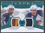 2011/12 Upper Deck Artifacts Evander Kane & Dustin Byfuglien Patch #23/50