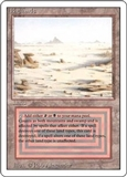 Magic the Gathering 3rd Ed (Revised) Single Badlands - MODERATE PLAY (MP)