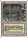 Magic the Gathering 3rd Ed (Revised) Single Bayou - HEAVY PLAY (HP)