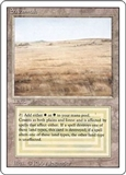 Magic the Gathering 3rd Ed (Revised) Single Savannah - HEAVY PLAY (HP)