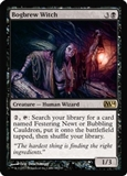 Magic the Gathering 2014 Single Bogbrew Witch UNPLAYED (NM/MT) - 4x Playset
