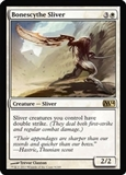 Magic the Gathering 2014 Single Bonescythe Sliver - NEAR MINT (NM)