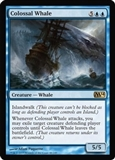 Magic the Gathering 2014 Single Colossal Whale UNPLAYED (NM/MT) - 4x Playset