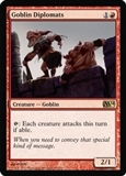 Magic the Gathering 2014 Single Goblin Diplomats UNPLAYED (NM/MT) - 4x Playset