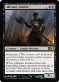 Magic the Gathering 2014 Single Lifebane Zombie UNPLAYED (NM/MT)