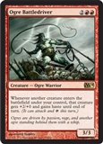 Magic the Gathering 2014 Single Ogre Battledriver UNPLAYED (NM/MT)