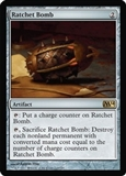 Magic the Gathering 2014 Single Ratchet Bomb FOIL