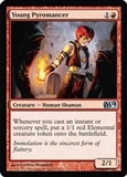 Magic the Gathering 2014 Single Young Pyromancer - NEAR MINT (NM)