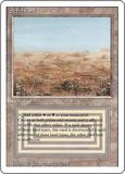 Magic the Gathering 3rd Ed (Revised) Single Scrubland - MODERATE PLAY (MP)